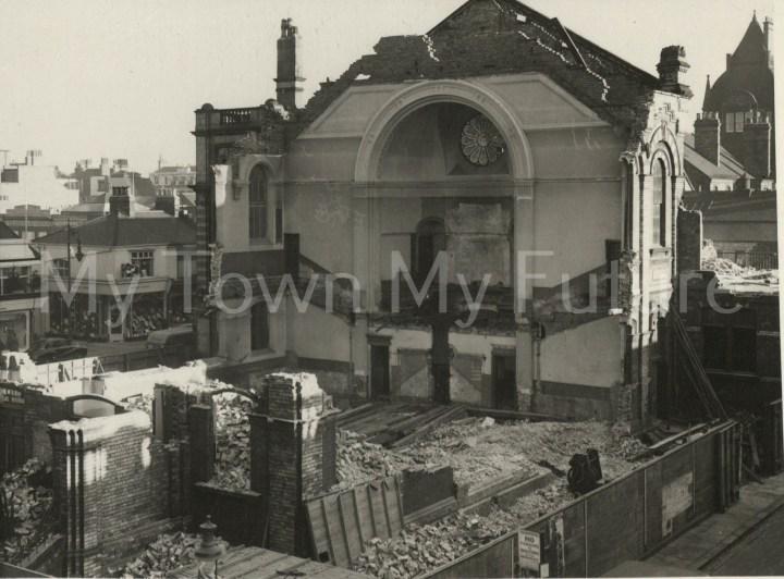 Wesleyan Chapel Demolition