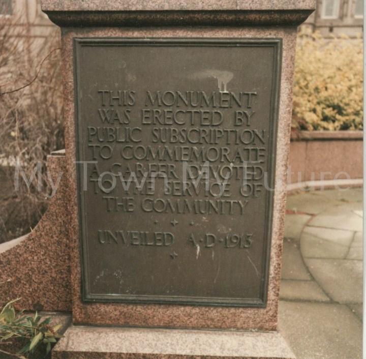 Sir Samuel Sadler Statue,Victoria Square
