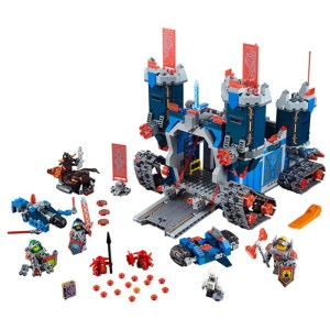 LEPIN 14006 10490 1115Pcs Nexus Knights The Fortrex Castle Building <font><b>Block</b></font> Clay Aaron Fox Axl Minifigures Compatible 70317 Bricks