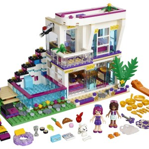 BELA Friends Series Livi's Pop Star House Building <font><b>Blocks</b></font> Classic For Girl Kids Model Toys Minifigures Marvel Compatible Legoe