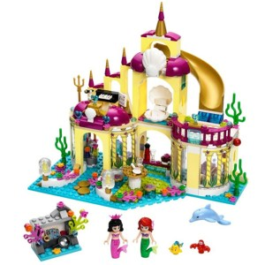 BELA 10436 Princess Undersea Palace Girl Friends Building <font><b>Blocks</b></font> 383pcs Bricks Toys For Children Birthday Gift
