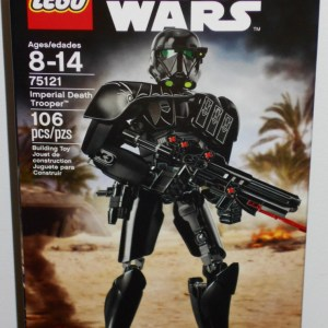 Lego Star Wars Imperial Death Trooper Buildable Figure 75121