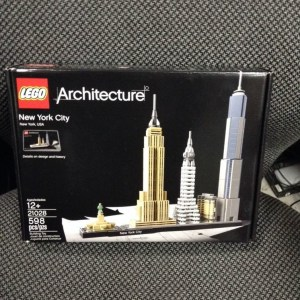 100% Genuine Brand New Sealed LEGO Architecture New York City 21028
