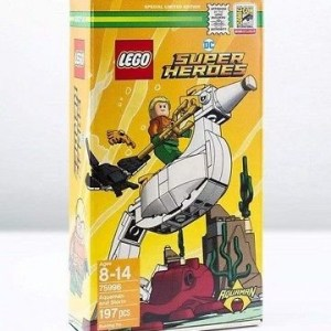 Sdcc 2018 Lego Exclusive DC Super Heroes Aquaman and Storm Set *IN HAND*