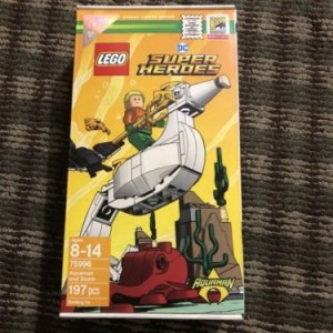 SDCC 2018 LEGO DC SUPER HEROES AQUAMAN AND STORM SET EXCLUSIVE (#75996)! IN HAND