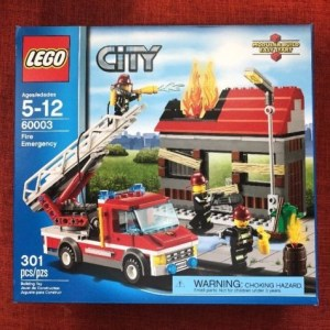 Lego City Set 60003 Fire Emergency New in Sealed Box