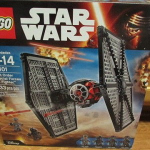LEGO Star Wars First Order Special Forces TIE fighter (75101) NEW