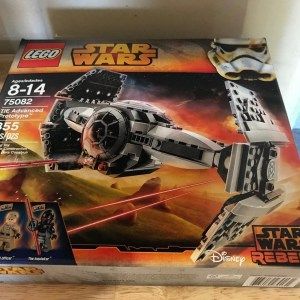 LEGO 75082 Star Wars Rebels TIE ADVANCED PROTOTYPE - NEW SEALED - FREE SHIP