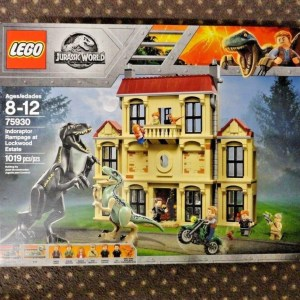 Lego Jurassic World Indoraptor Rampage at Lockwood Estate 75930 BRAND NEW SEALED