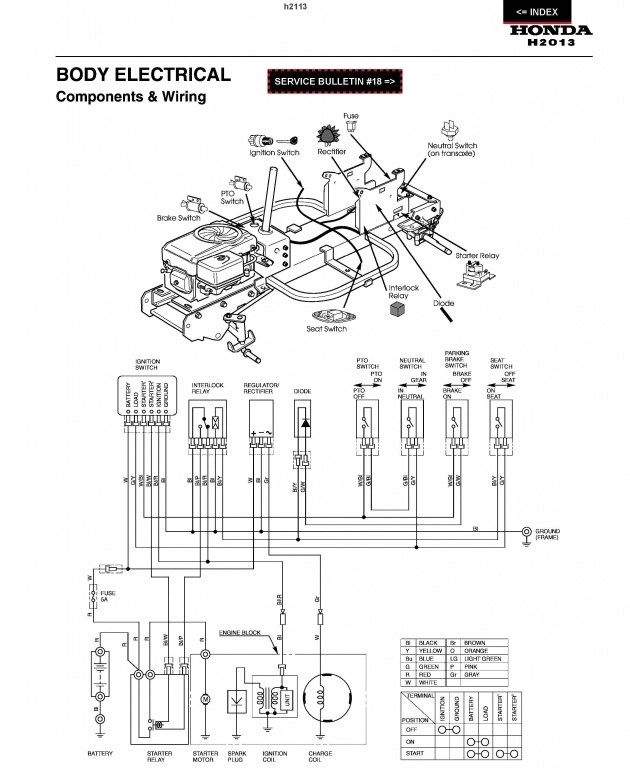 File: Honda 3813 Wiring Diagram