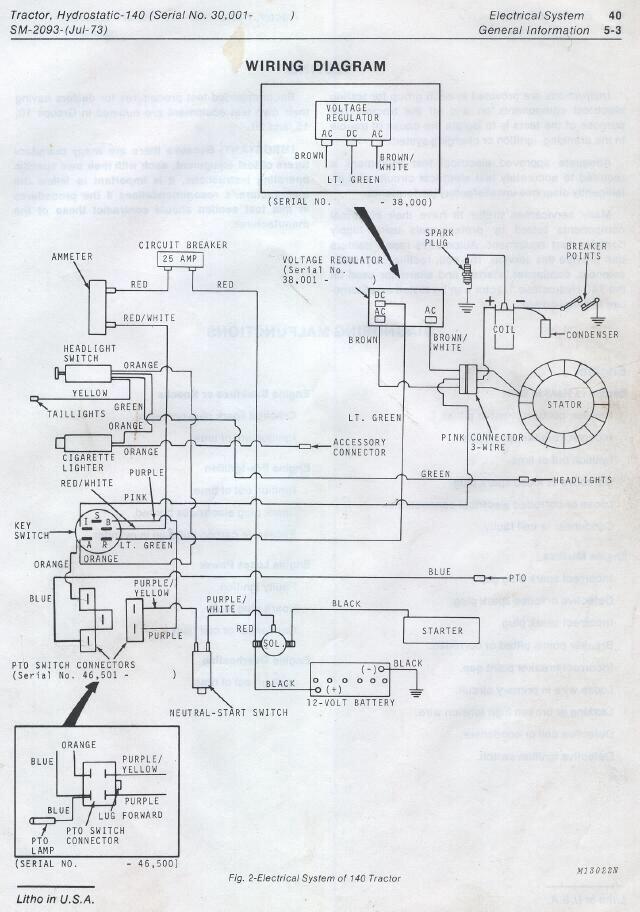 [DIAGRAM] John Deere 140 Wiring Diagram FULL Version HD