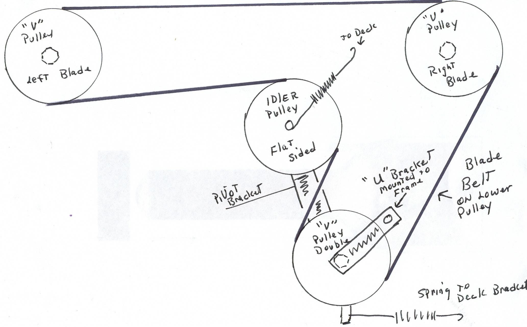 Wiring Database 2020: 28 John Deere Stx 38 Belt Diagram
