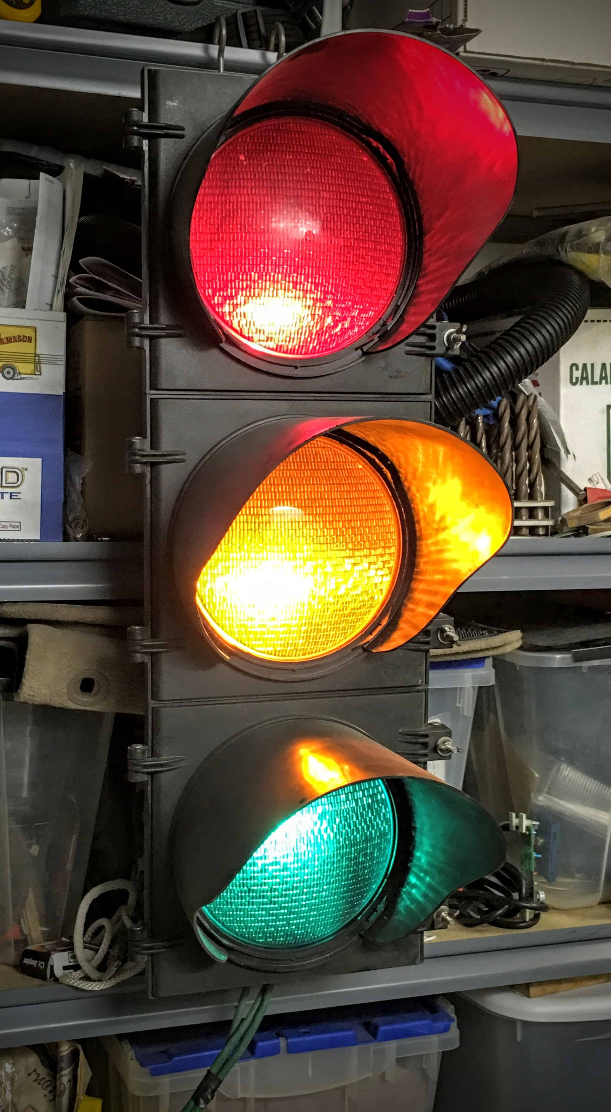 Real Traffic Lights In My Collection Make Great