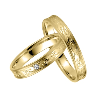 Einzigartige Eheringe  Verlobungsschmuck bei
