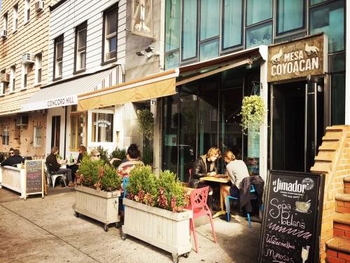 Concord Hill Williamsburg new york hotspots breakfast lunch tips