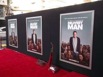Hollywood Premiere Delivery Man 2013