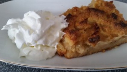 Apfelkuchen vom Blech mit Butterstreuseln