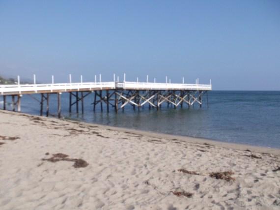 Paradise Cove Beach in Malibu