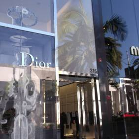 Der Rodeo Drive in Beverly Hills