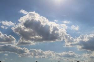 Wolken am Sommerhimmel
