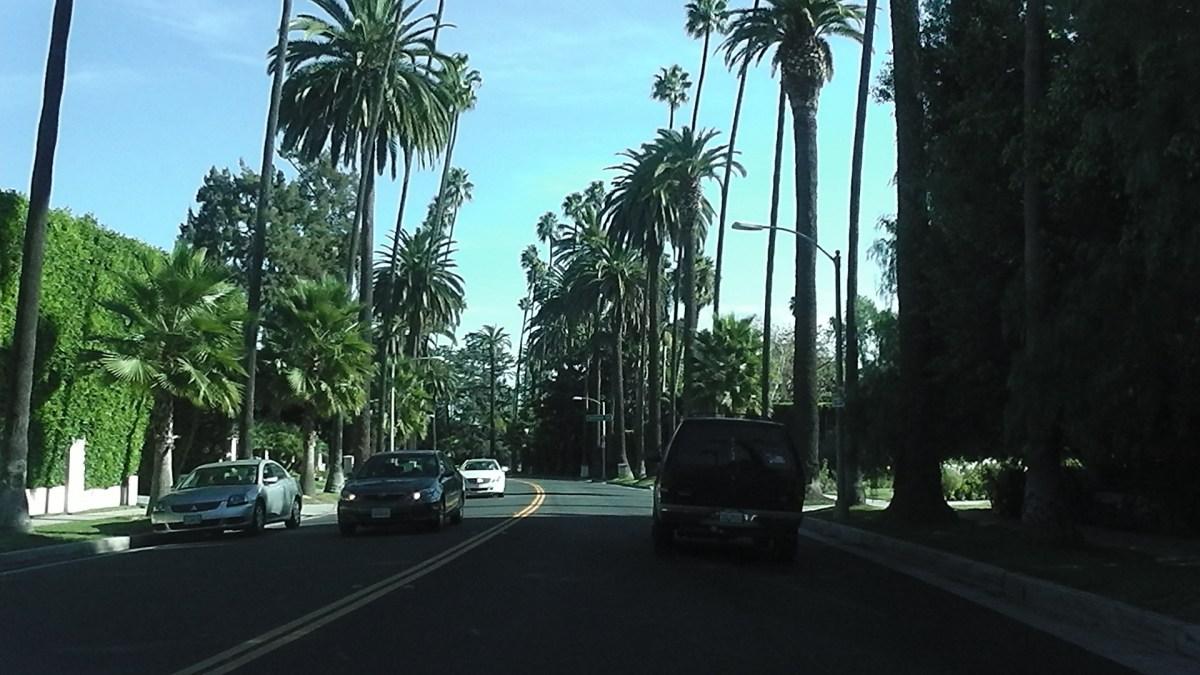 Das glamouröse Beverly Hills, Wohnort vieler Stars in Kalifornien!
