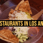 Top Restaurants in Los Angeles