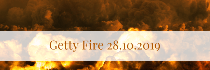 Getty Fire 28.10.2019