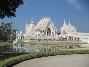 Le Triangle d'Or et Wat Rong Khun
