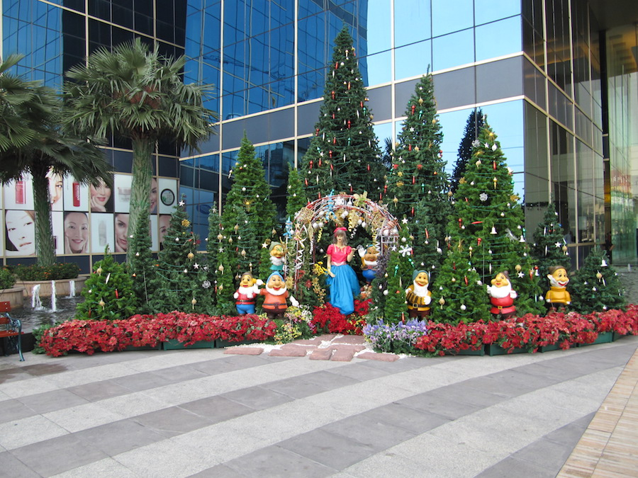 Bangkok Xmas decoration
