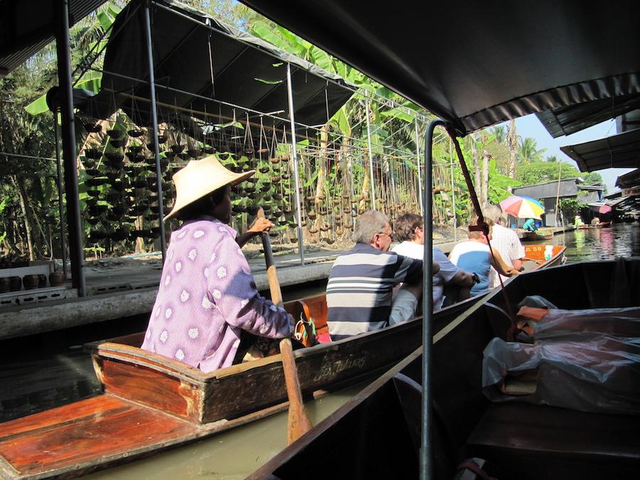 Marché Flottant de Bangkok ''Damnoen Saduak''