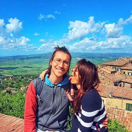 Giulia Lamarca e Andrea Decarlini a Volterra, Toscana