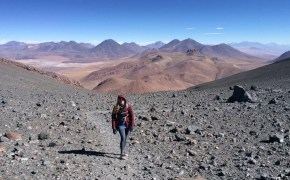 One of the most epic day hikes is climbing Volcano Lascar in Northern Chile.