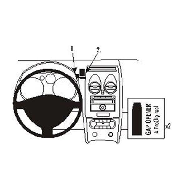 Højkvalitets Brodit ProClip til Nissan Qashqai hos MTP