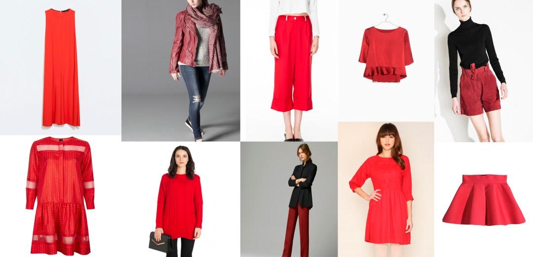 Tendencias de temporada rojo tiendas
