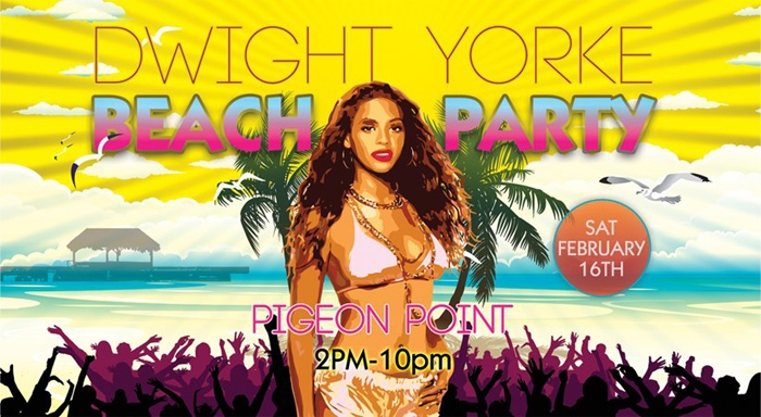 Dwight Yorke's Beach Party