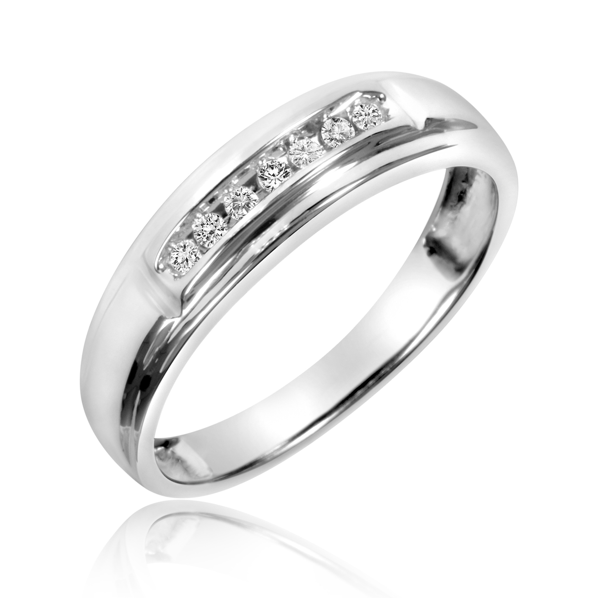 Cheap Wedding Ring Sets For His And Her Perfect Heart