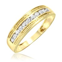 New fashion wedding ring: Mens wedding rings yellow gold