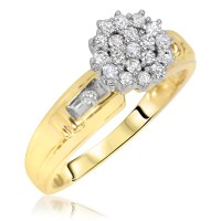 Gold Wedding Rings: Engagement Rings Yellow Gold For Women