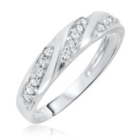 White Gold Diamond Wedding Rings For Women
