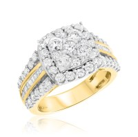 2 Carat T.W. Diamond Engagement Ring 14K Yellow Gold | My ...
