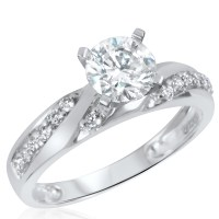 Bridal Sets: White Gold Bridal Sets Wedding Rings