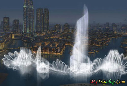 the largest fountain in the world,dubai,fountain,uae,wallpaper,emirates