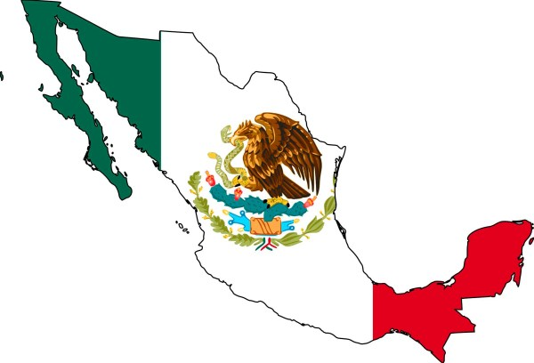 The Largest Most Detailed Mexico Map and Flag Travel