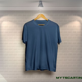Navy blue plain t shirt
