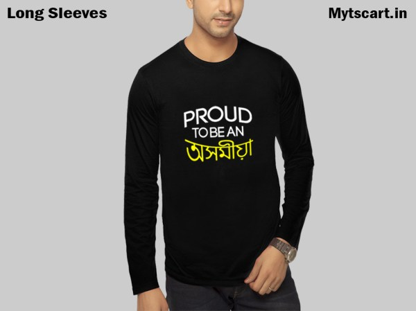 Assamese Full Sleeve Printed t shirt