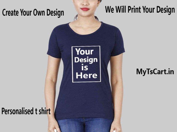 Customised printed t shirt for Women