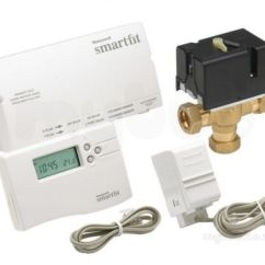 Honeywell Smartfit Y Plan Wiring Diagram Three Way Switching Pack With 22mm Valve 1 Day Start Controls