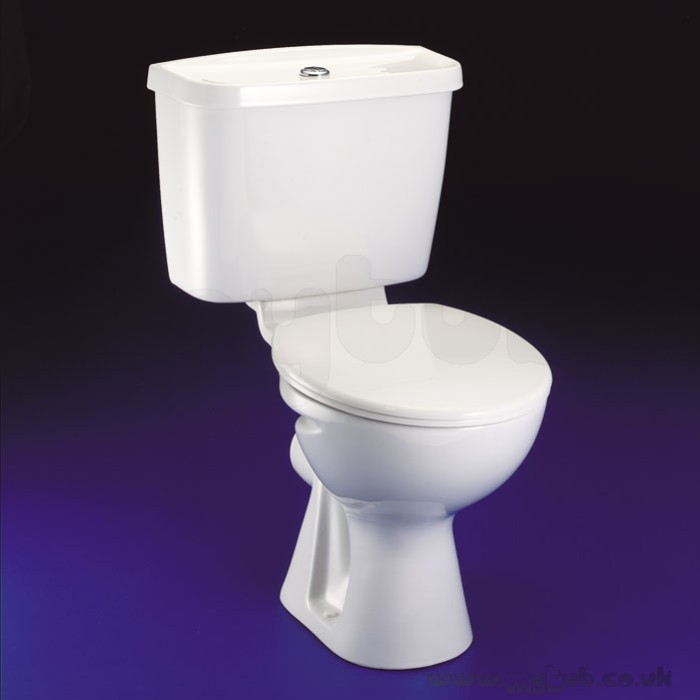Ideal Standard E9290 Wc Seat And Cover White  Ideal Standard