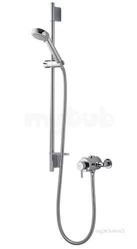 Aqualisa Srn001ea Chrome Siren Sl Thermostatic Shower