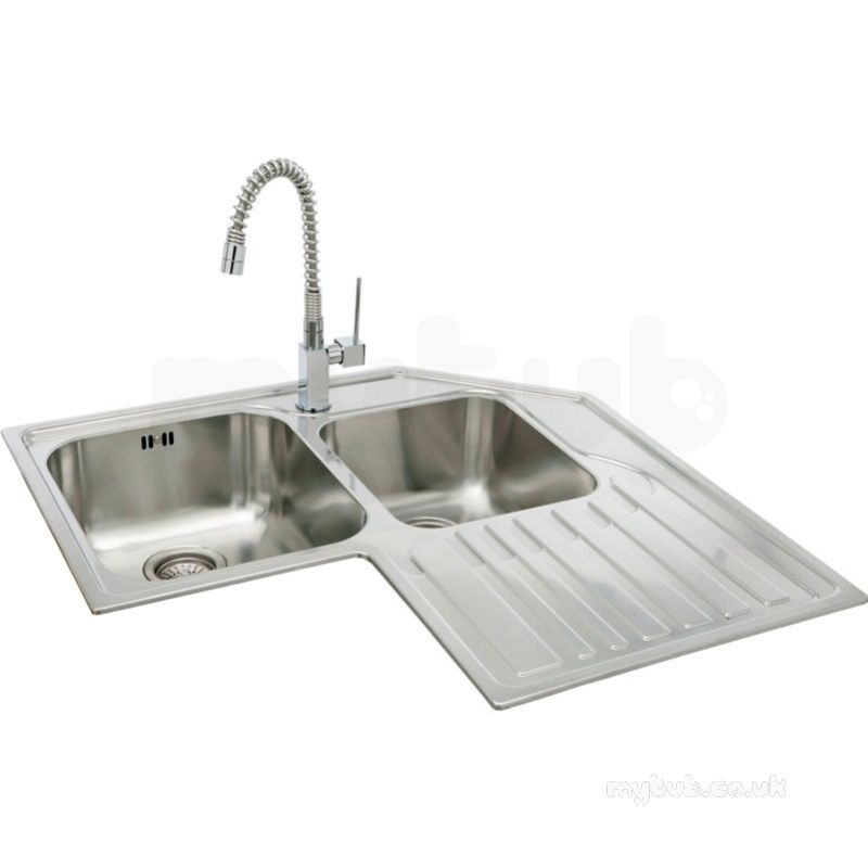 title   Single Bowl Corner Kitchen Sink